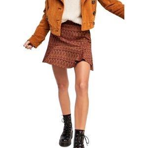 NWT When In Rome Mini Skirt